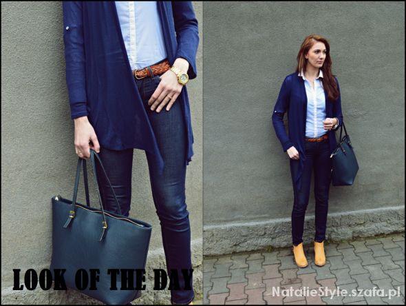 Blogerek look of the day blue