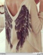 Bluza ze skrzydłami