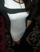 Sukienka pikowana