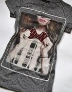 Bluzka t shirt z nadrukiem