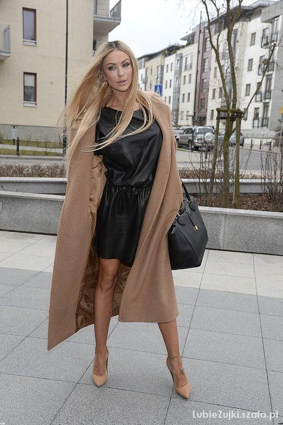 Eleganckie Pietrasińska jak Kim