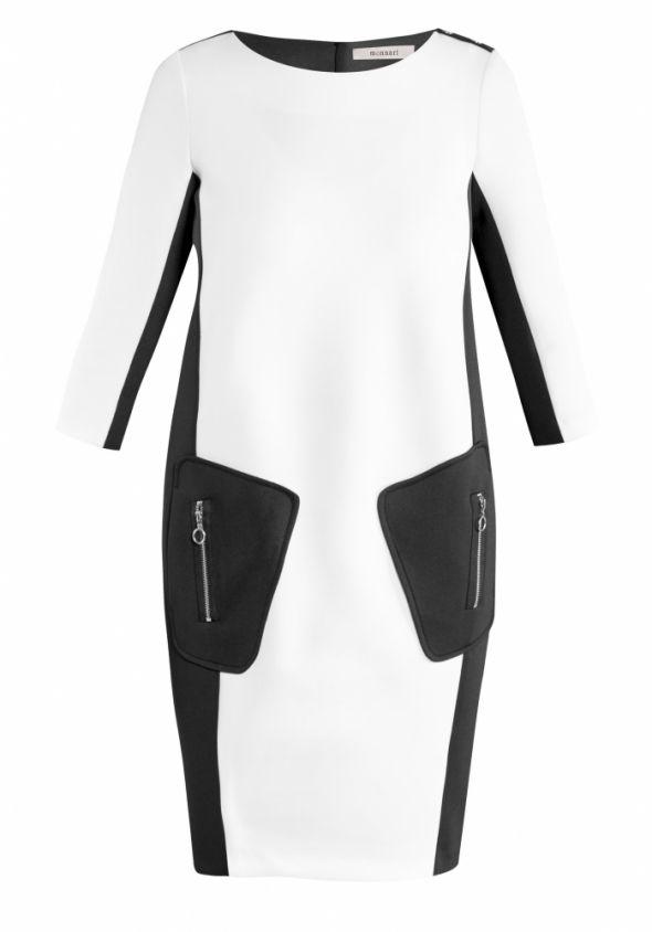 futurystyczna sukienka monnari rozm M...