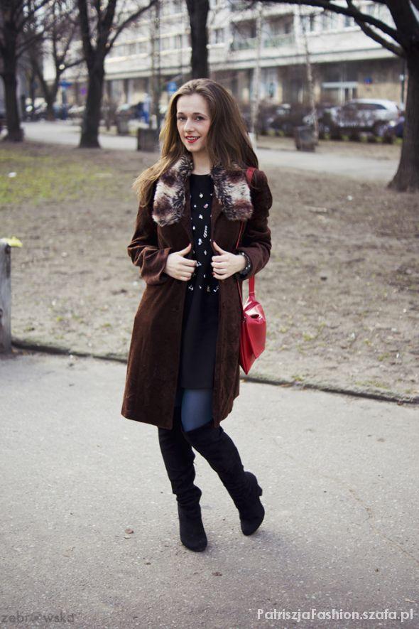 Eleganckie mój płaszcz DIY w stylziacji