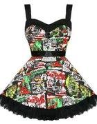 Hell Bunny B Movie Mini Dress