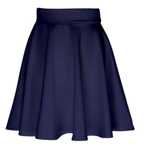 Spódnice Rozkloszowana czarna M L
