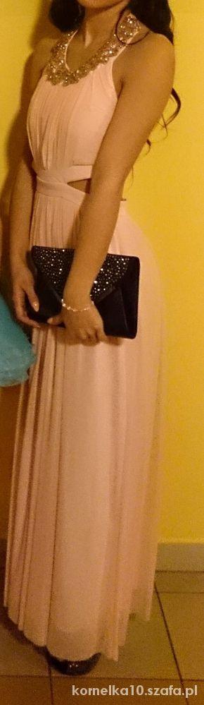 Suknie i sukienki Zwiewna sukienka maxi