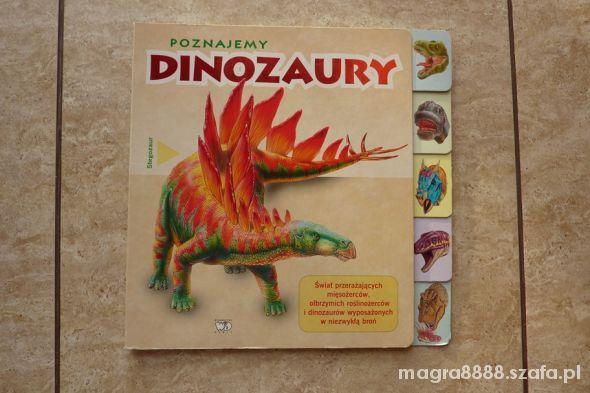Zabawki Książka Poznajemy dinozaury wyd DEBIT