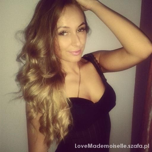 Fryzury ombre curly hair