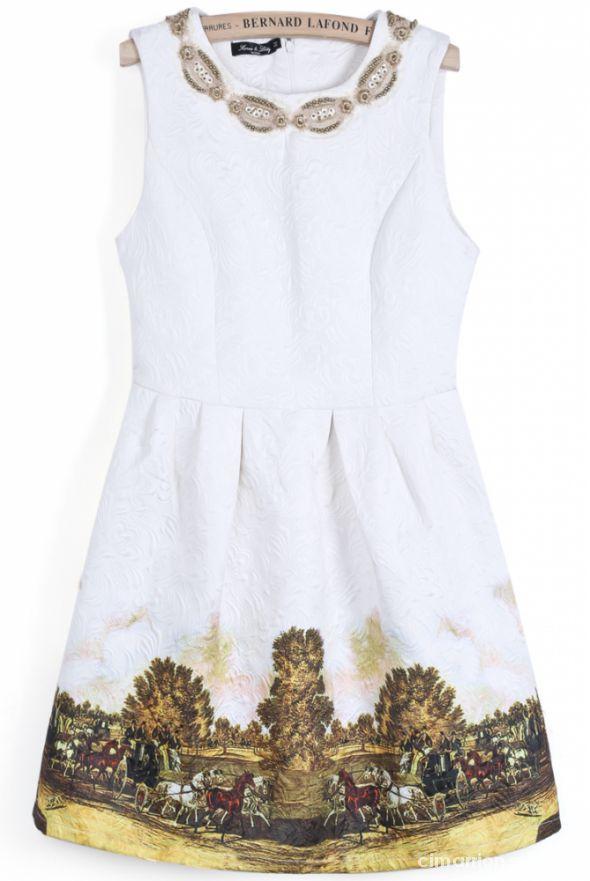 Sukienka rozkloszowane Sheinside