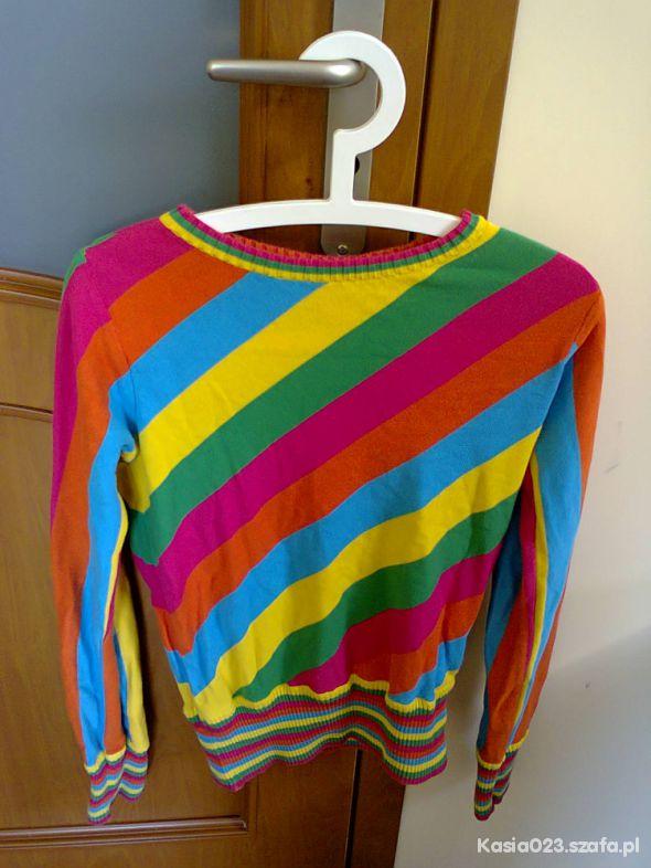 9c8304c270ad96 HM kolorowy sweter w Swetry - Szafa.pl