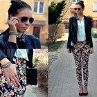 Floral pants kwieciste spodnie
