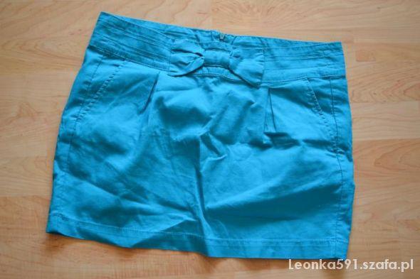 Spódnice RESERVED spodniczka mietowa z kokarda m