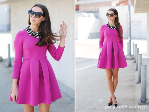 3f43a84361 NOWA Choies Neoprenowa Rozkloszowana Sukienka w Suknie i sukienki ...