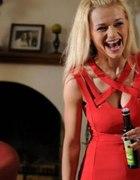 czerwona sukienka mini z serialu Ranczo