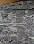 długa szara bluza z kapturem na zamek
