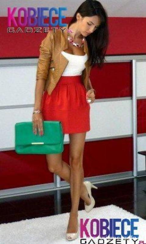 Eleganckie Kobieca stylizacja