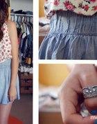 Rozkloszowana jeans