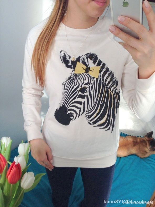 Ubrania Bluza zebra