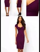 ASOS fioletowa sukienka uwielbiam...