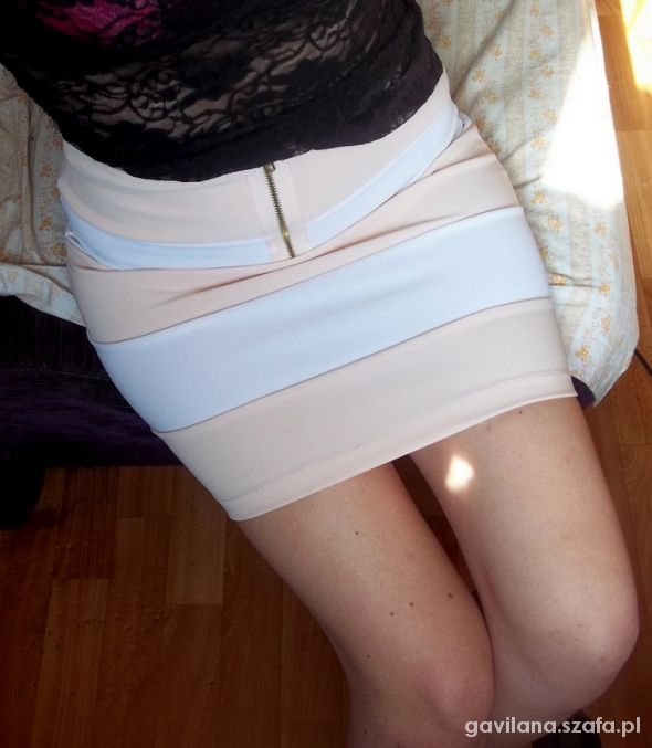 Spódnice spodnica bandazowa czeka na lato