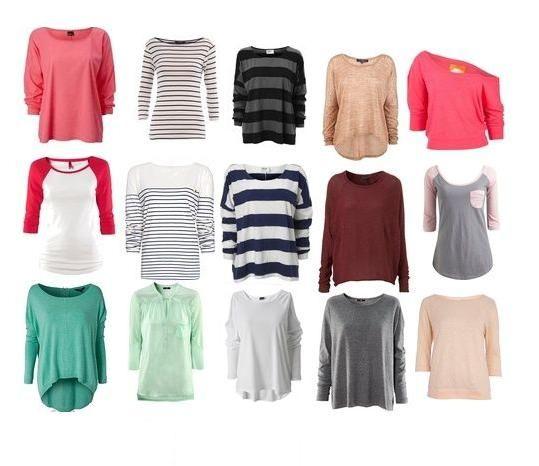 poszukiwane bluzki
