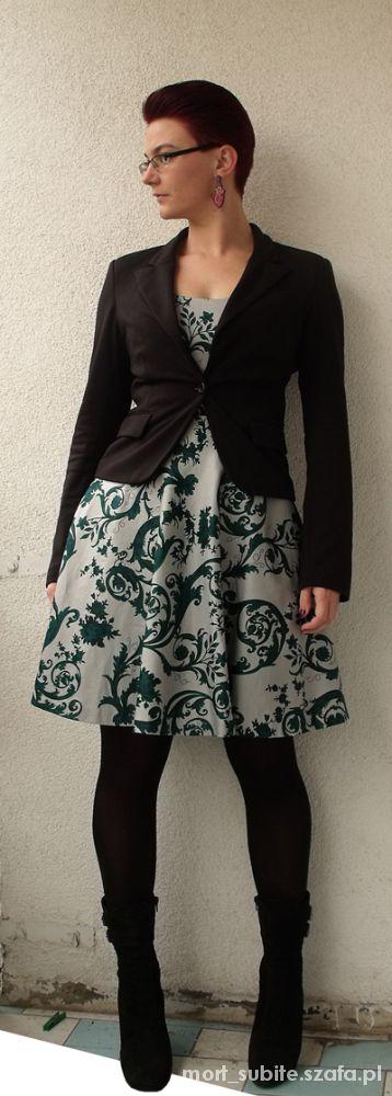 Do pracy Letnia sukienka w wersji biurowej