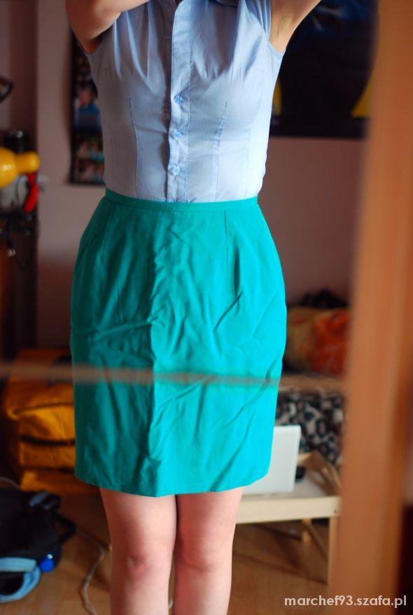 Spódnice spódnica elegancka podwyższony stan talia 36