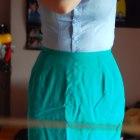 spódnica elegancka podwyższony stan talia 36