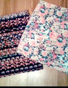 Spódnica floral Bershka...