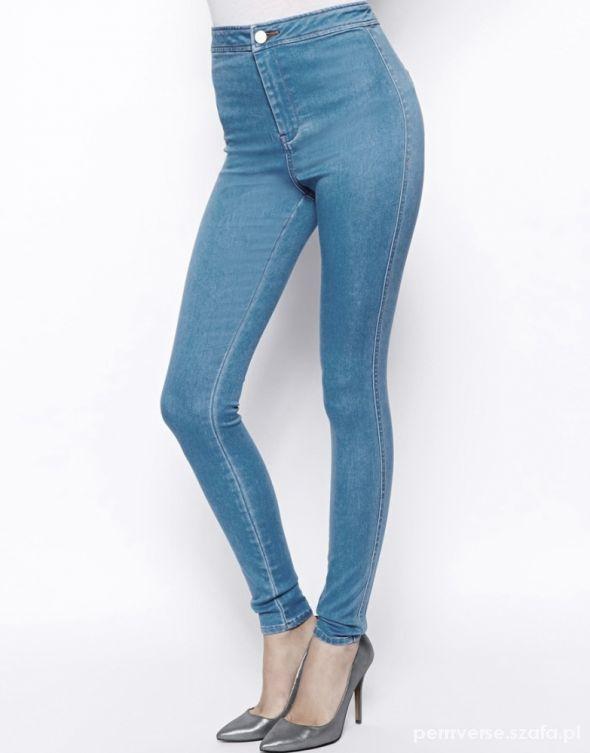 04da57814a2f ASOS rurki WYSOKI STAN 34 36 38 nowe jeansy w Spodnie - Szafa.pl