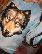 Bluza z wilkiem S...