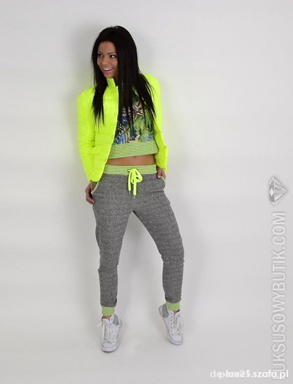 Mój styl neon limonka