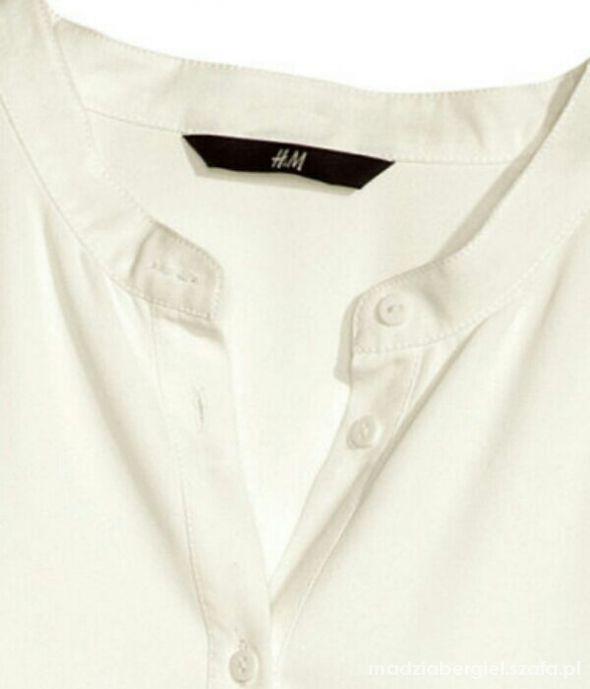 koszula skorzane pagony h&m