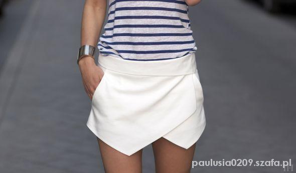 Spódnice Zara skort spodenki spódnica 34