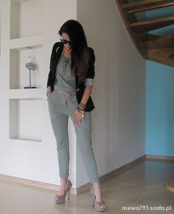 Mój styl Khaki
