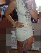 sukienka z cwiekami