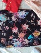nowa spodniczka ołówkowa ZARA w kwiaty