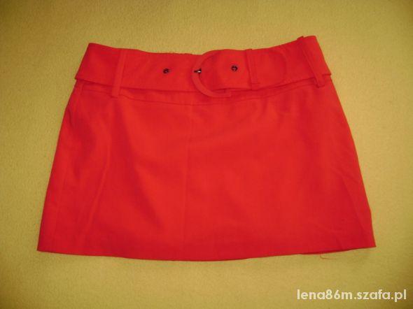 Spódnice Czerwona mini H&M rozmiar M