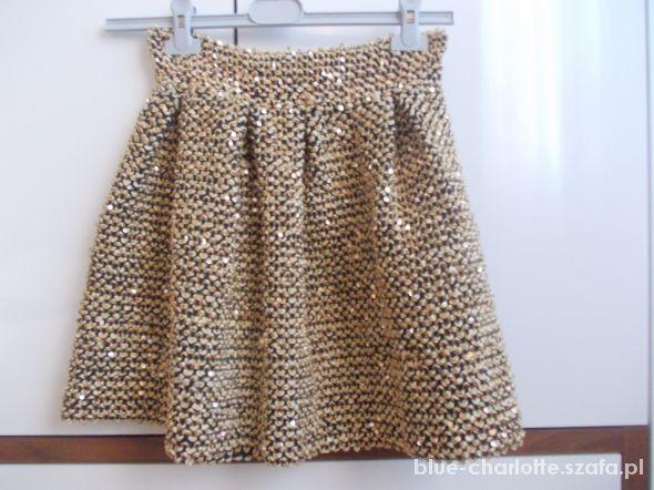 Spódnice Złota spódnica