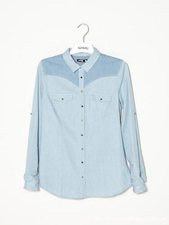 Koszula jeansowa sinsay