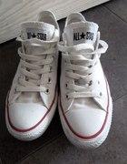 Białe trampki Converse 38
