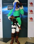 Cosplay Caitlyn Arctic Warfare z League of Legends...