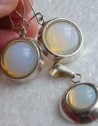 Srebro i opale komplet
