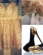 Poszukuję takiej złotej sukieneczki