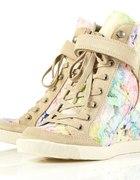 topshop floral sneakers