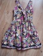 ATMOSPHERE piękna sukienka w kwiaty floral 42