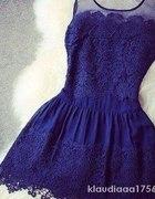 Cudna sukienka z koronki