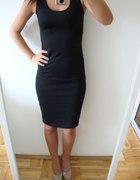 elegancka sukienka czarna rozm XL