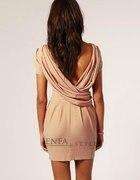 Sukienka z dekoltem na plecach L