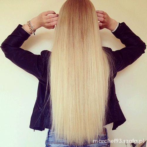 śliczne włosy moja motywacja